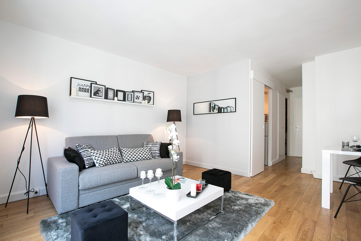 Furnished apartment ideal perfect surface Paris