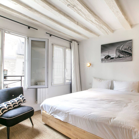 Furnished one-bed flat in Paris