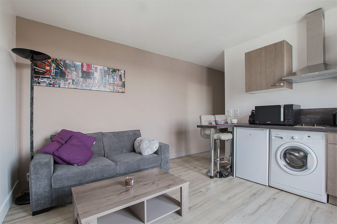 Furnished apartment for rent Boulogne Billancourt Rue Denfert-Rochereau
