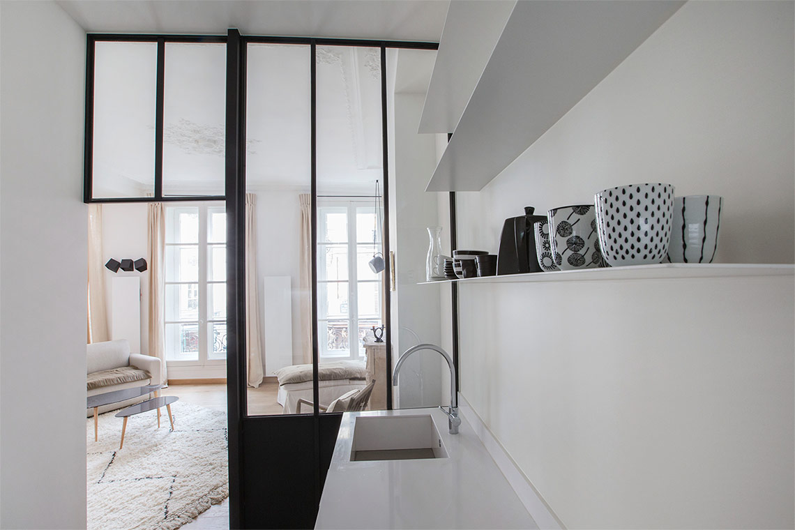 Apartment Paris Rue Saint André des Arts 8