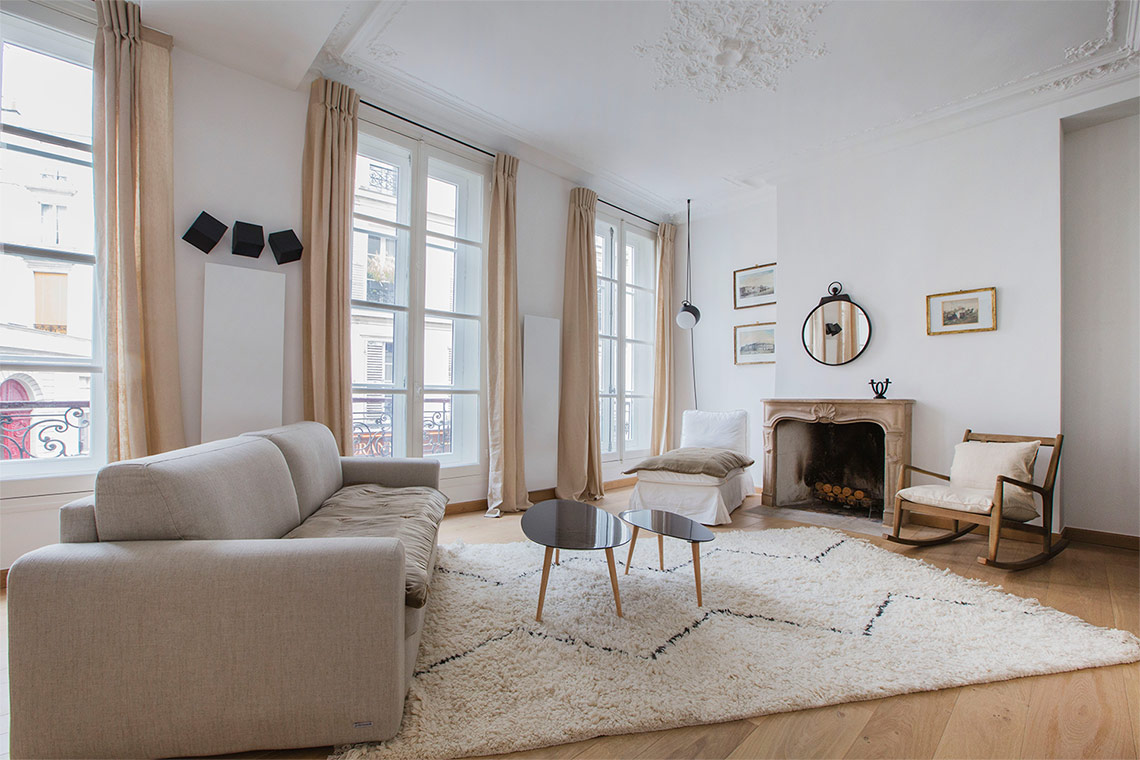 Furnished apartment for rent Paris Rue Saint André des Arts