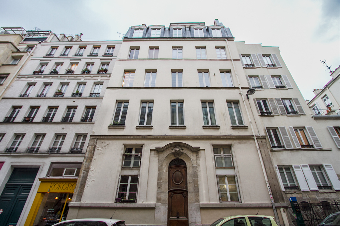 Apartment Paris Rue des Boulangers 14