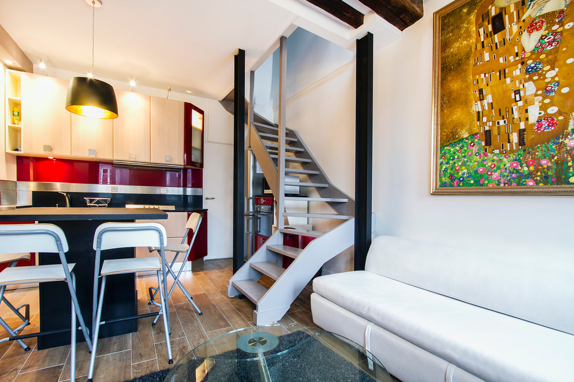 Apartment Paris Rue des Boulangers 4