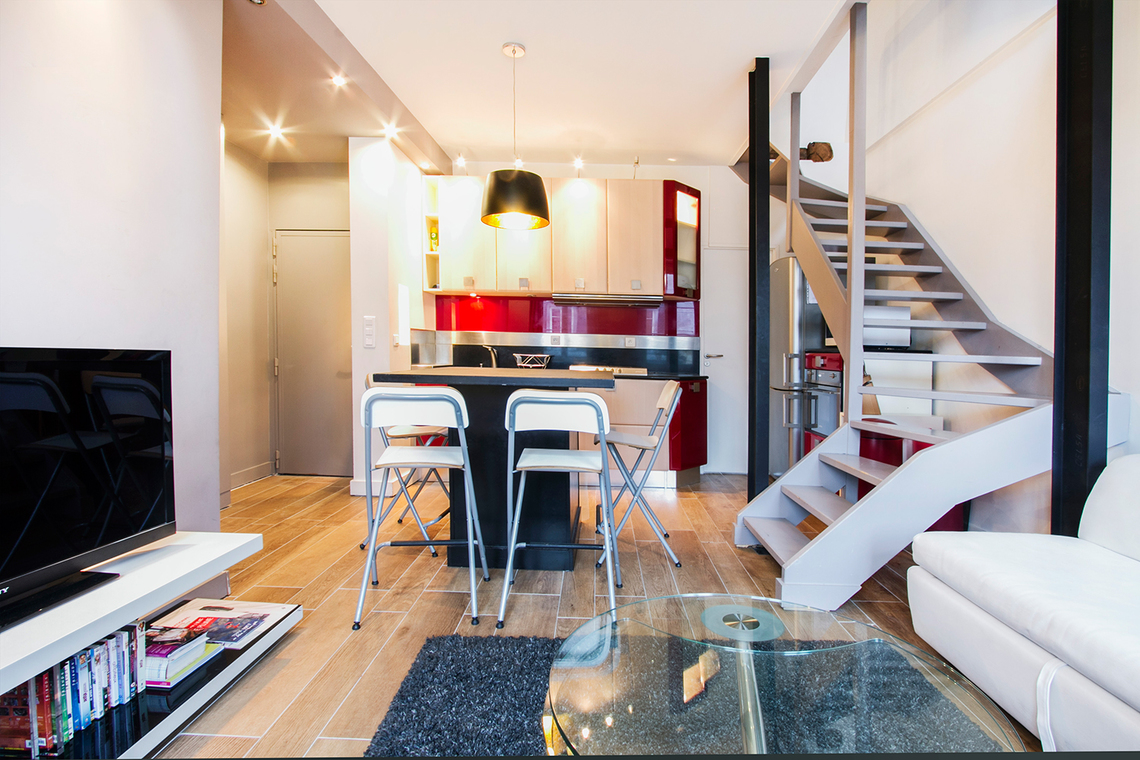 Furnished apartment for rent Paris Rue des Boulangers
