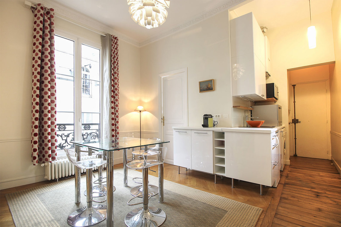 Furnished apartment for rent Paris Rue Bonaparte
