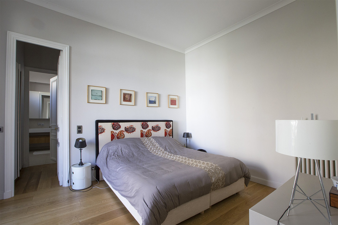 Apartment Paris Boulevard Flandrin 10