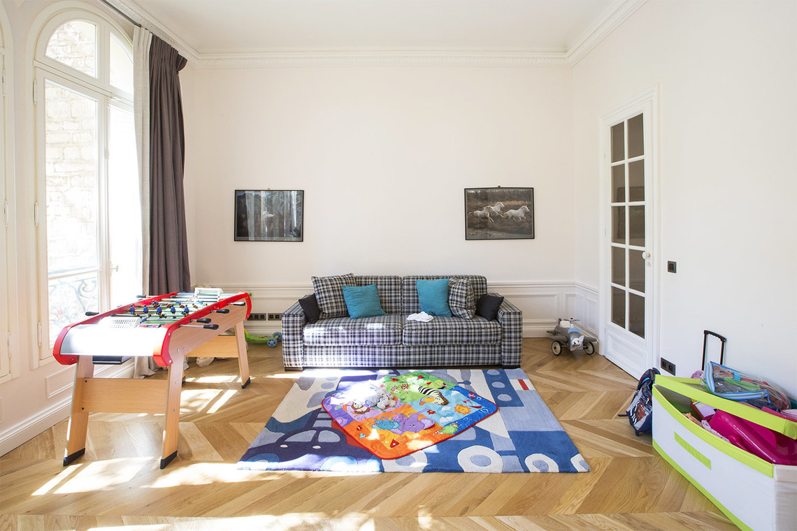 Apartment Paris Boulevard Flandrin 19
