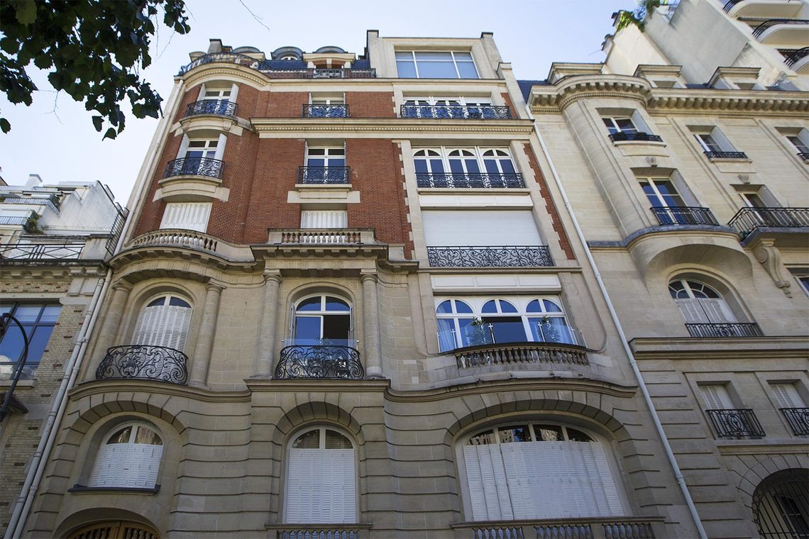 Apartment Paris Boulevard Flandrin 23
