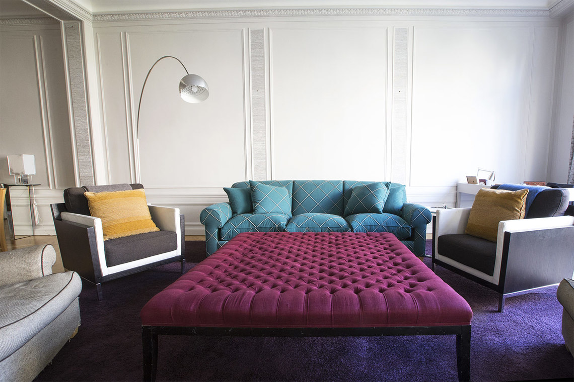 Apartment Paris Boulevard Flandrin 2
