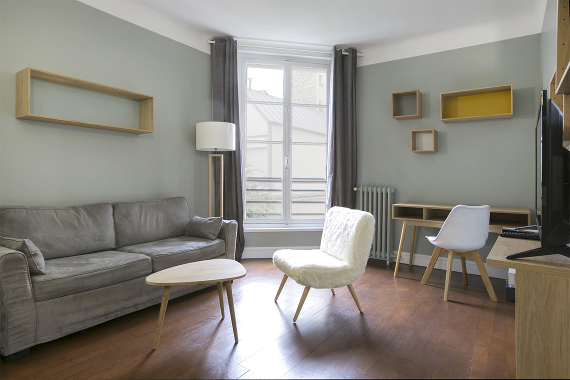 Furnished apartment for rent Paris Rue Jouvenet