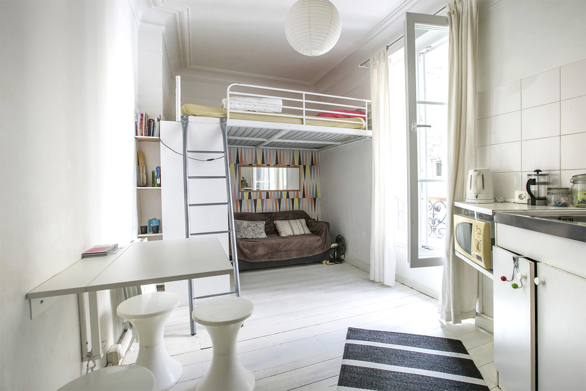 Furnished apartment for rent Paris Rue Robert Planquette