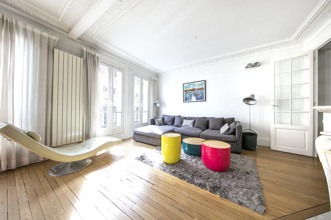 Furnished apartment for rent Paris Rue Poussin