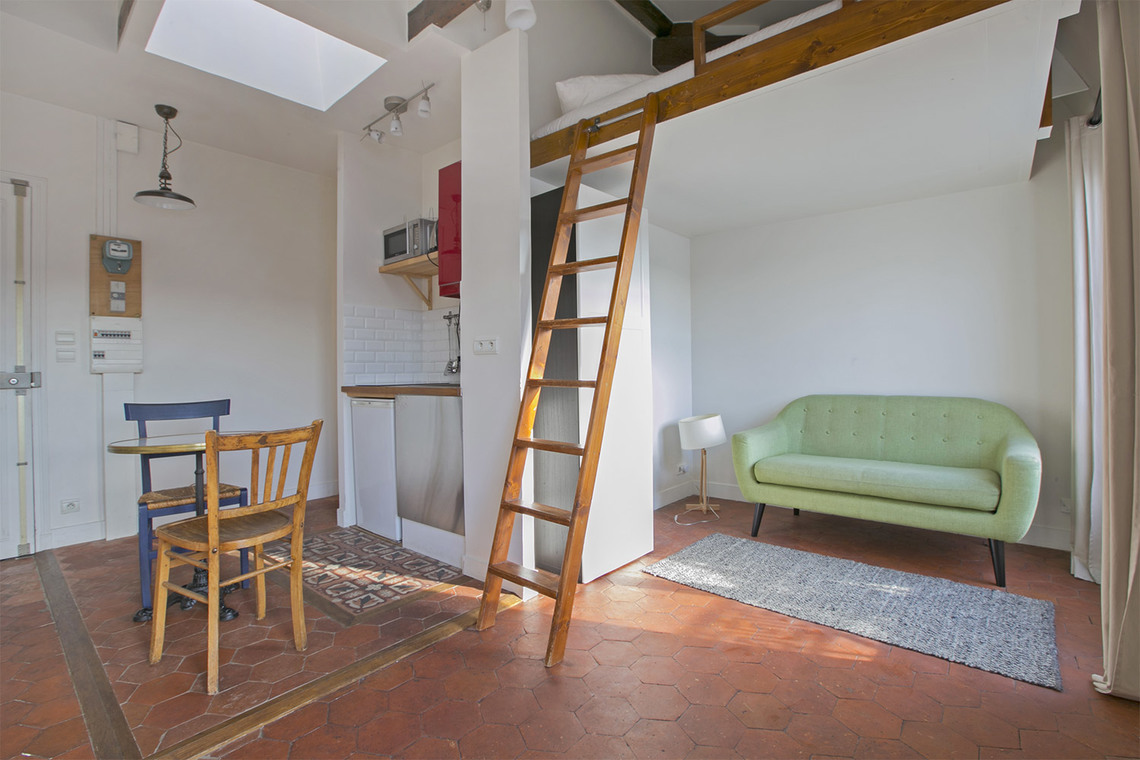 Furnished apartment for rent Paris Rue du Faubourg Poissonnière