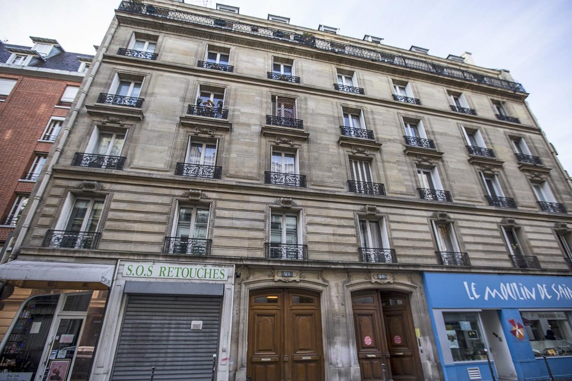 Apartment Paris Rue d'Armaillé 12