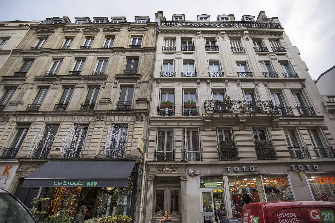 Apartment Paris Rue Duban 23