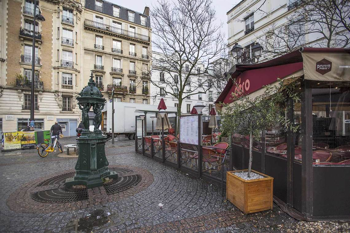 Apartment Paris Rue Duban 24