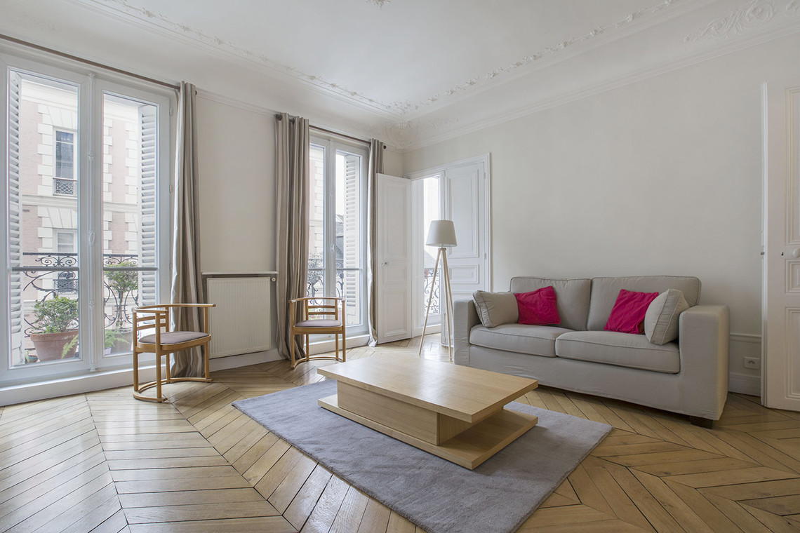 Furnished apartment for rent Paris Rue Duban