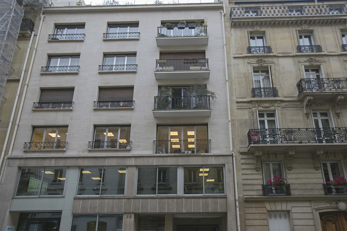 Apartment Paris Rue de Lisbonne 12