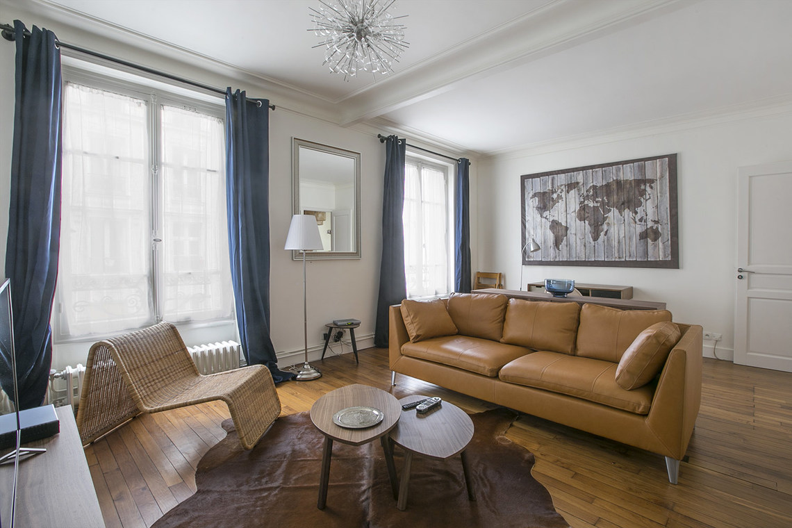 Furnished apartment for rent Paris Rue Baron