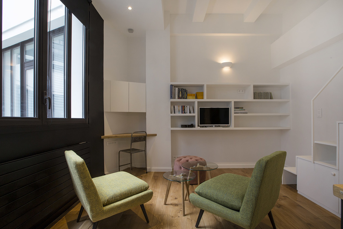 Paris Rue Lucien Sampaix Apartment for rent
