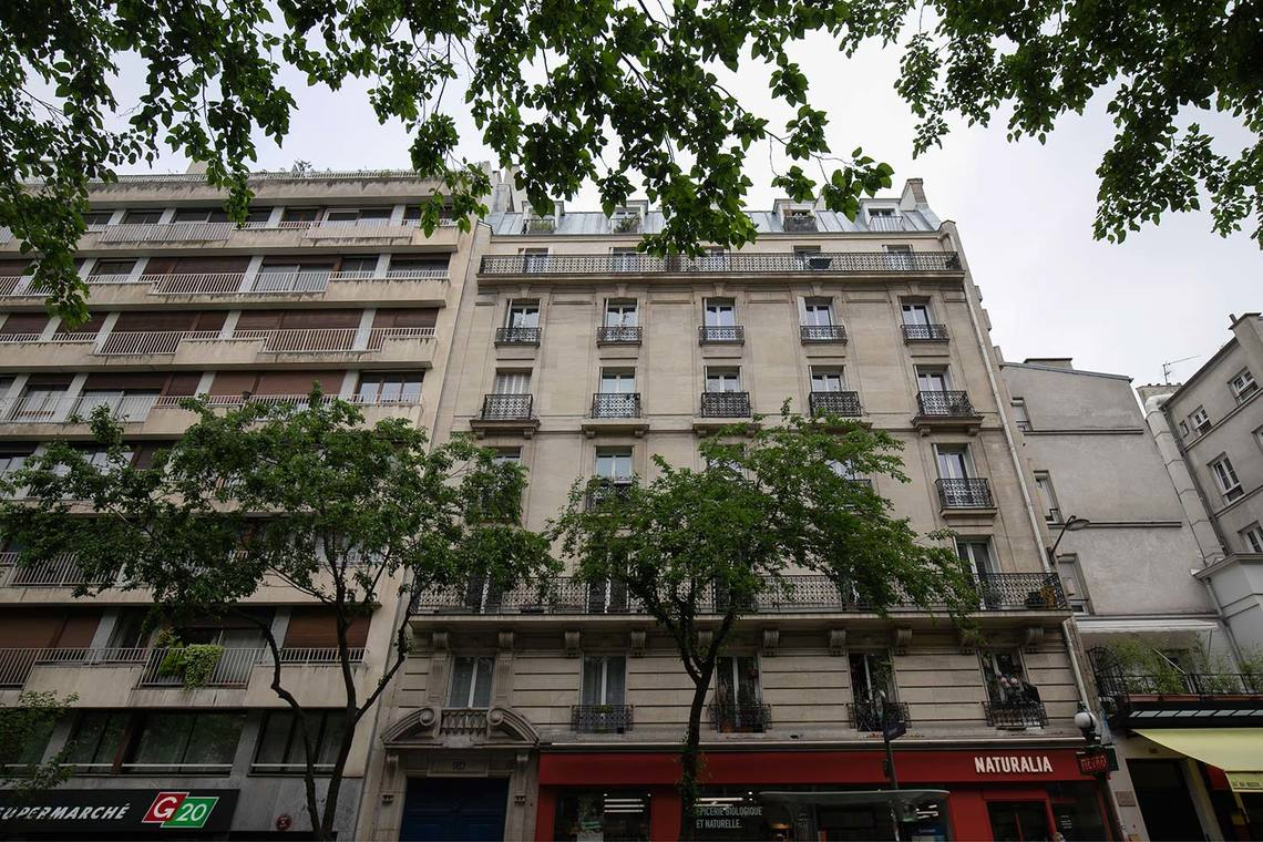 Квартира Paris Avenue Parmentier 18