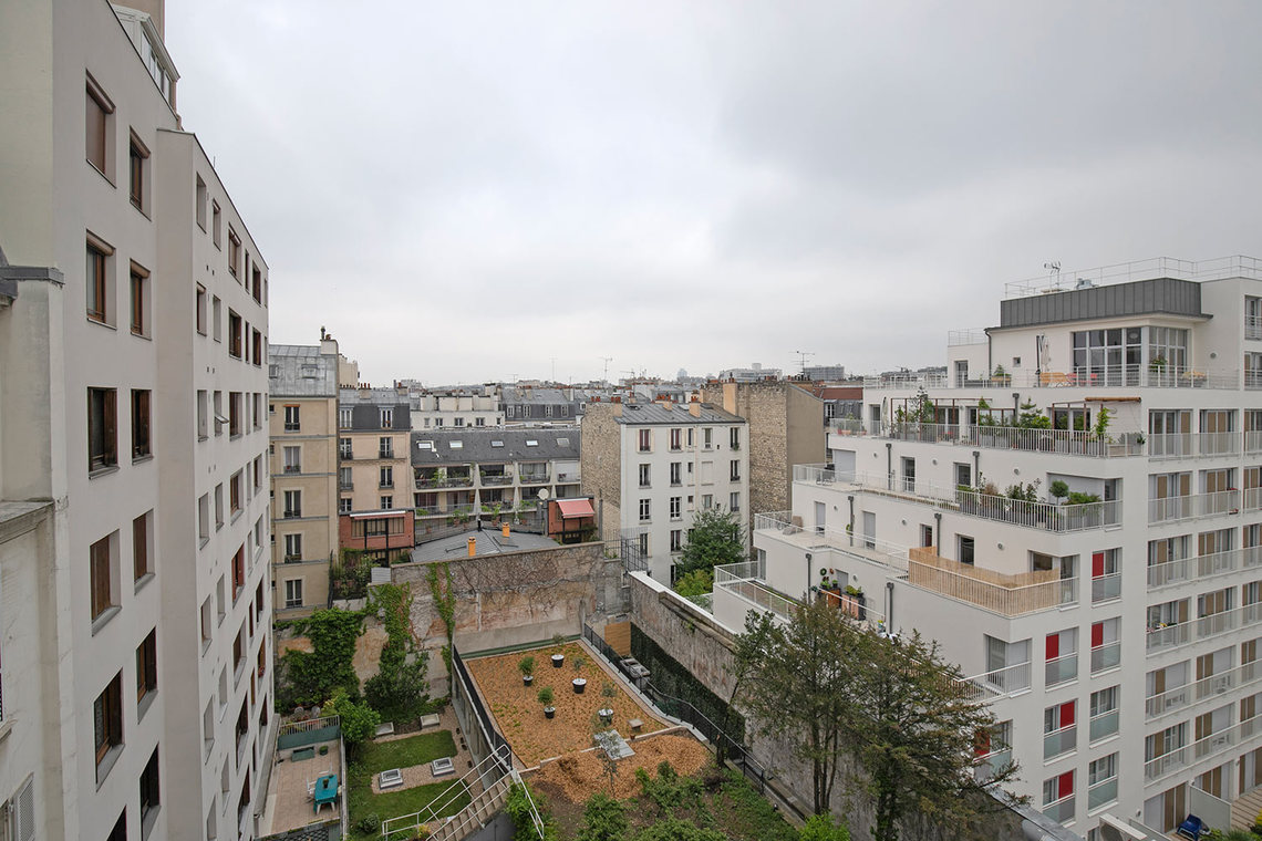 Квартира Paris Avenue Parmentier 15