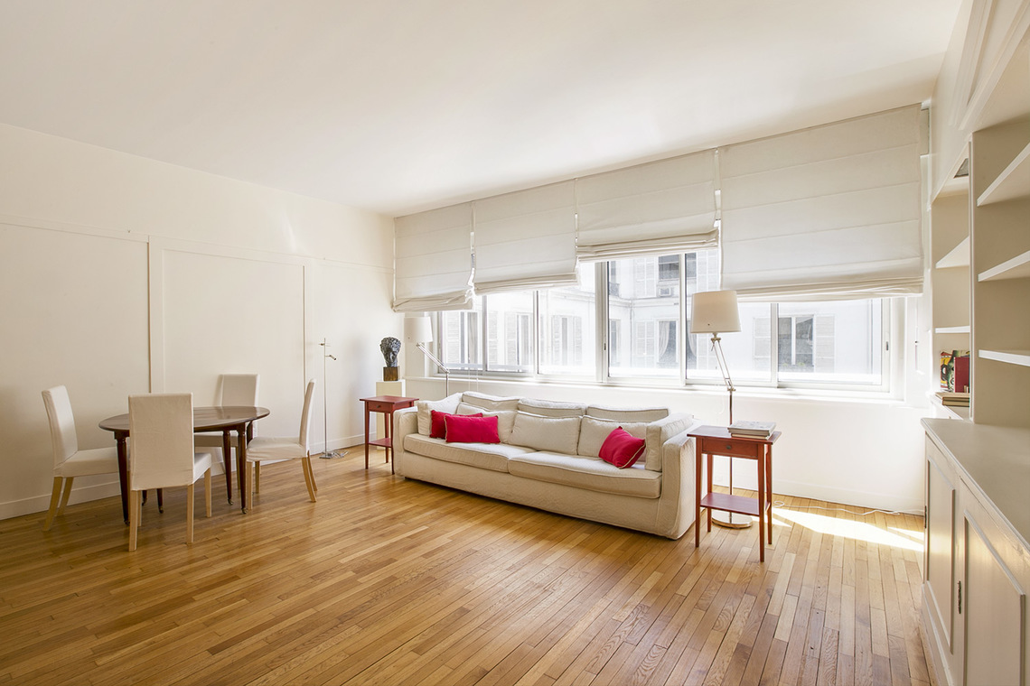 Paris Boulevard Haussmann Apartment for rent
