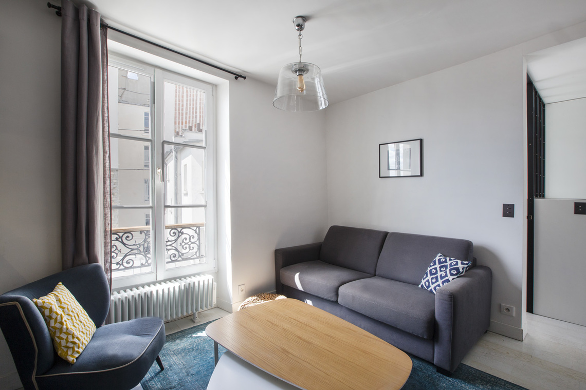 Furnished apartment for rent Paris Rue Andre Barsacq