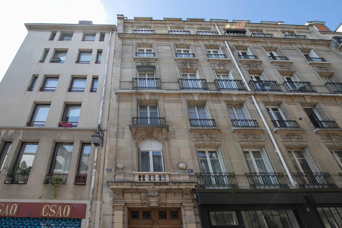 Apartment Paris Rue Elzevir 18