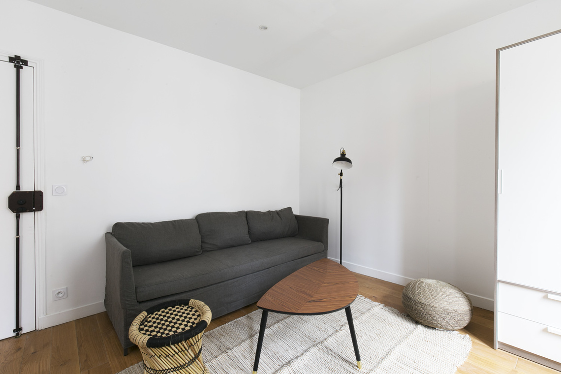 Furnished apartment for rent Paris Rue Pouchet
