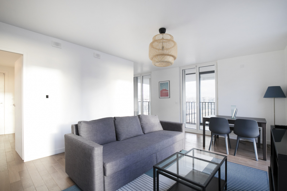 Furnished apartment for rent Paris Rue Mstislav Rostropovitch