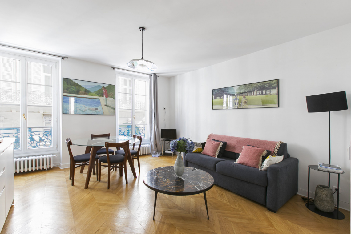 Furnished apartment for rent Paris Rue Washington