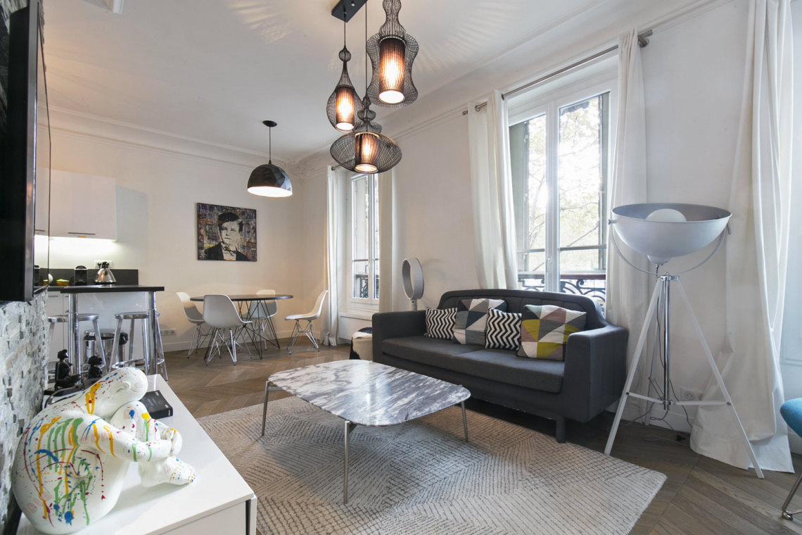 Furnished apartment for rent Paris Boulevard Henri IV