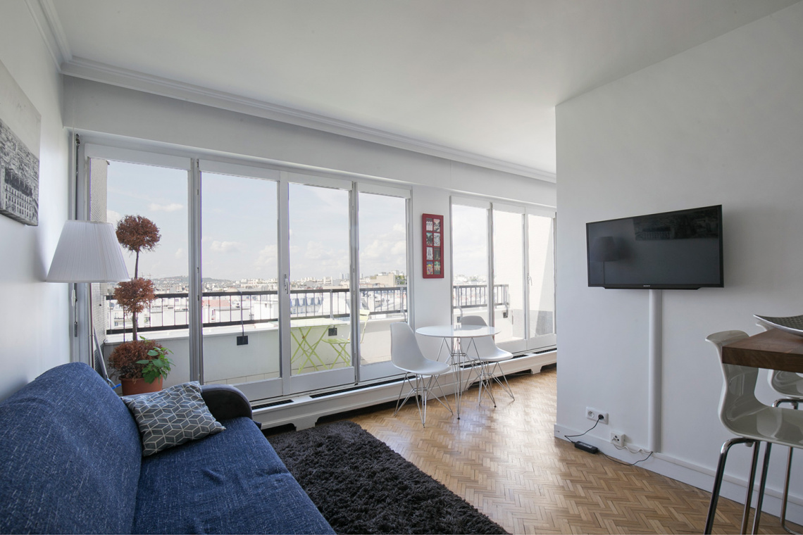 Furnished apartment for rent Paris 16 Boulevard Murat