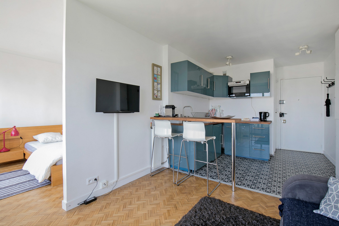 Apartment Paris 16 Boulevard Murat 4