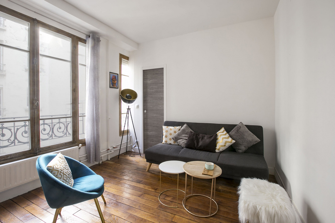Furnished apartment for rent Paris Rue Dulong