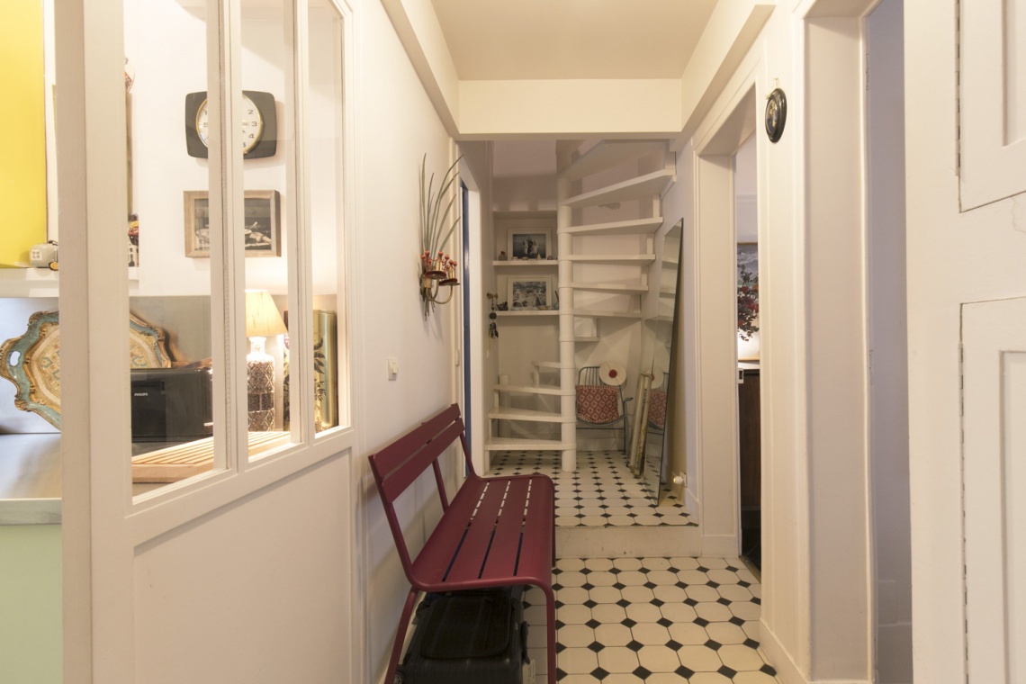Apartment Paris Rue Houdon 12