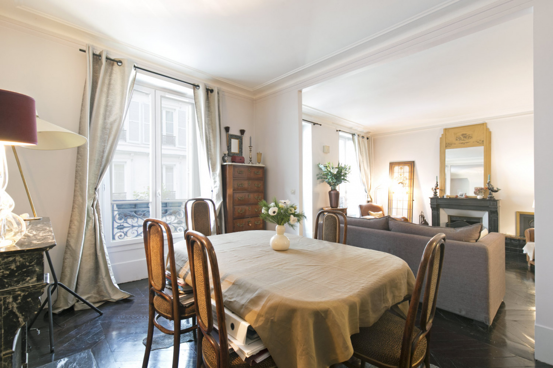 Apartment Paris Rue Houdon 7