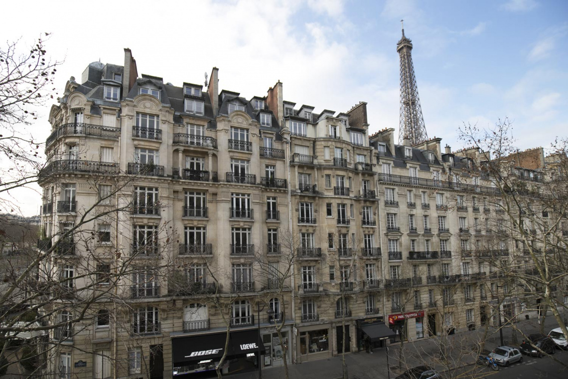 Apartment Paris Avenue de la Bourdonnais 10