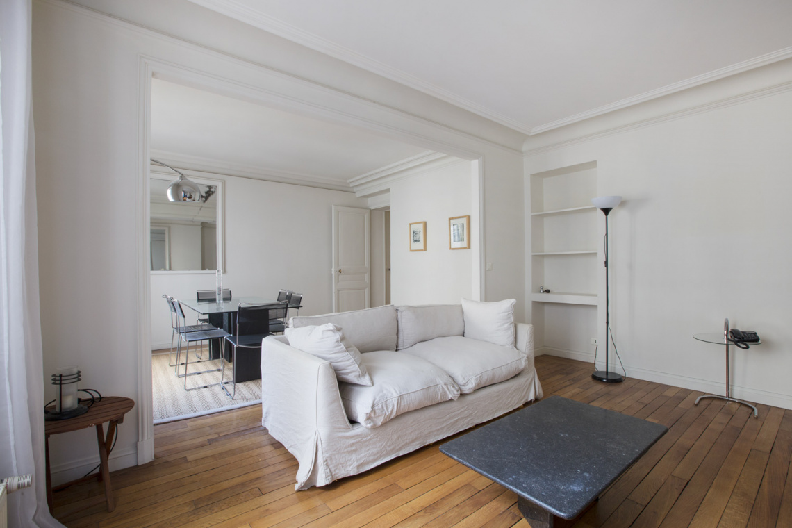 Furnished apartment for rent Paris Rue le Sueur