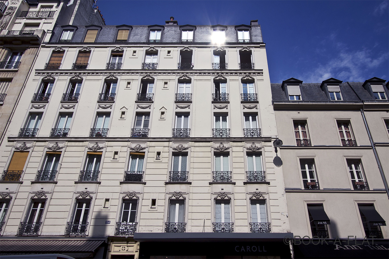 Apartment Paris Rue de Courcelles 10