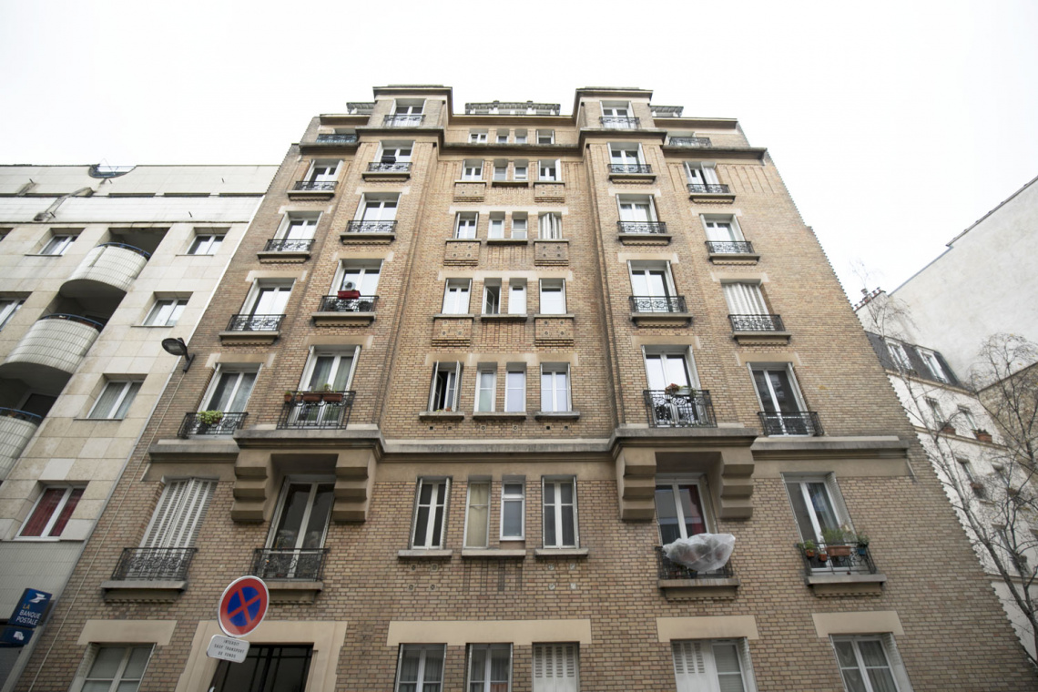 Apartment Paris Rue Duhesme 10