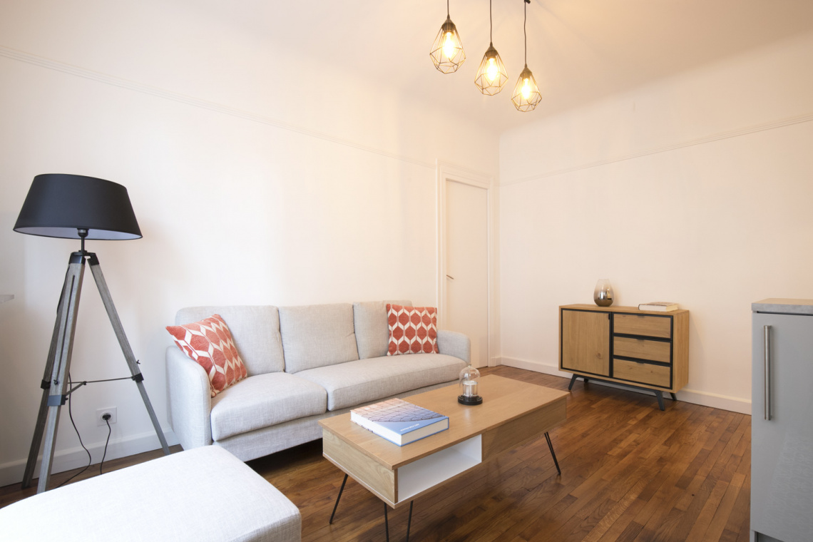 Furnished apartment for rent Paris Rue Duhesme
