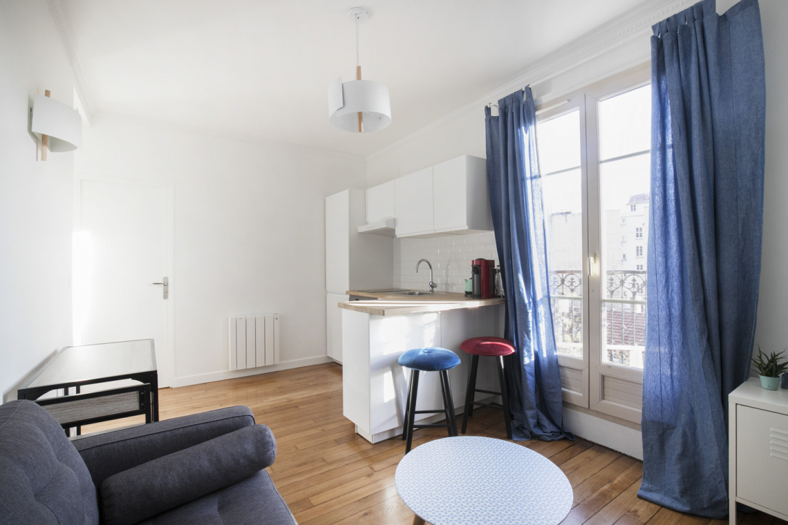 Paris Rue de Tolbiac Apartment for rent