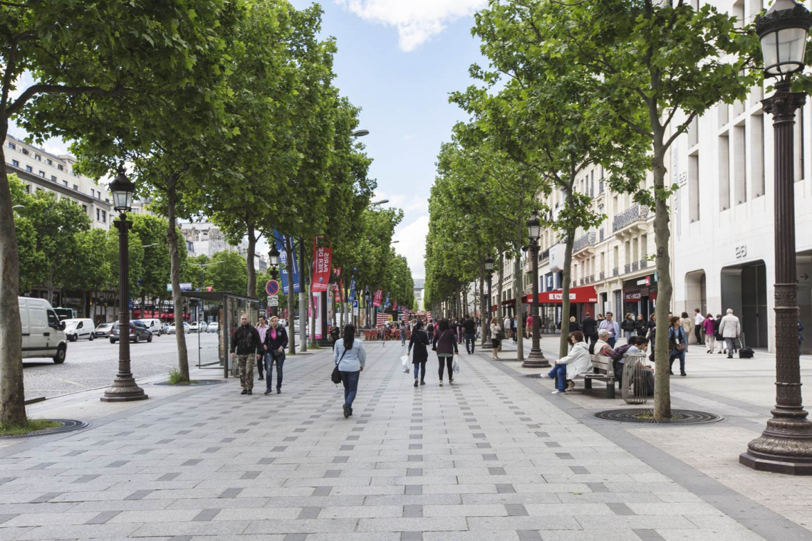 Квартира Paris Avenue George V 19