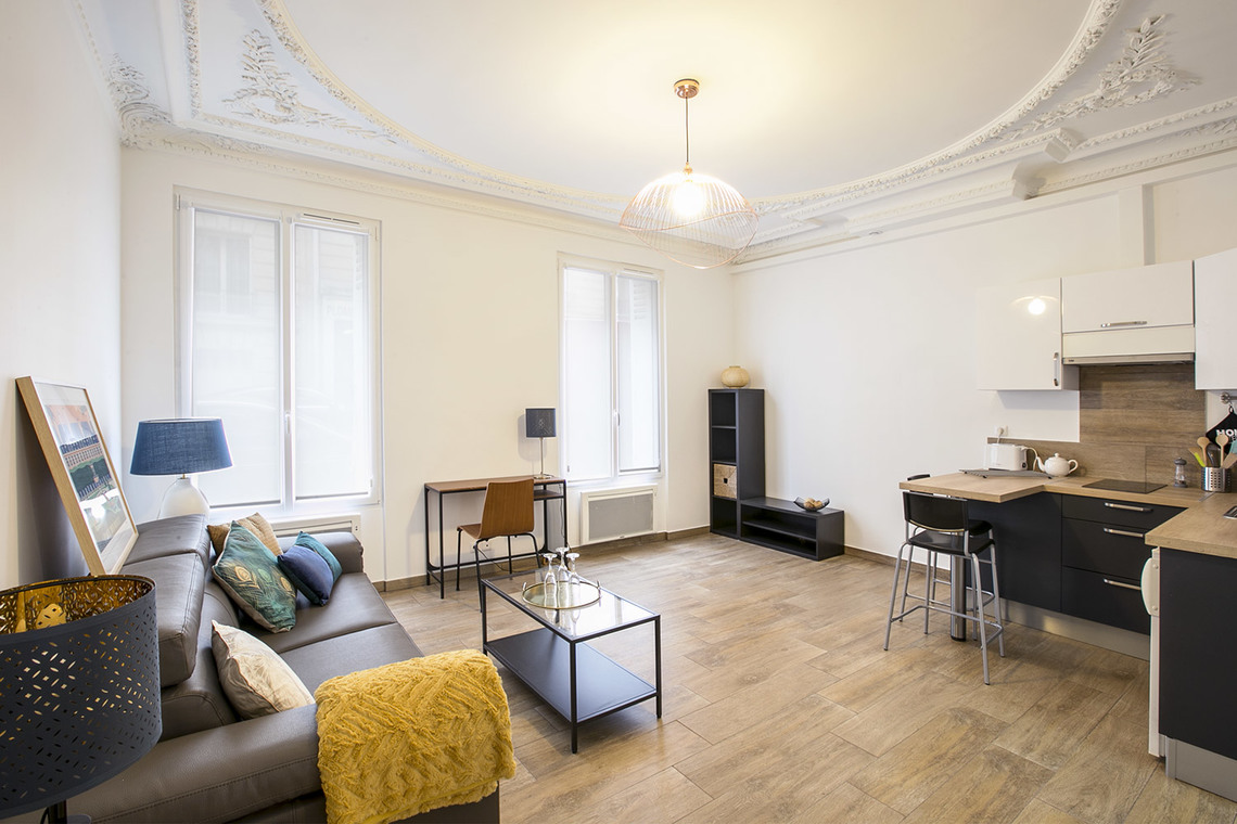 Furnished apartment for rent Paris Rue Lauriston
