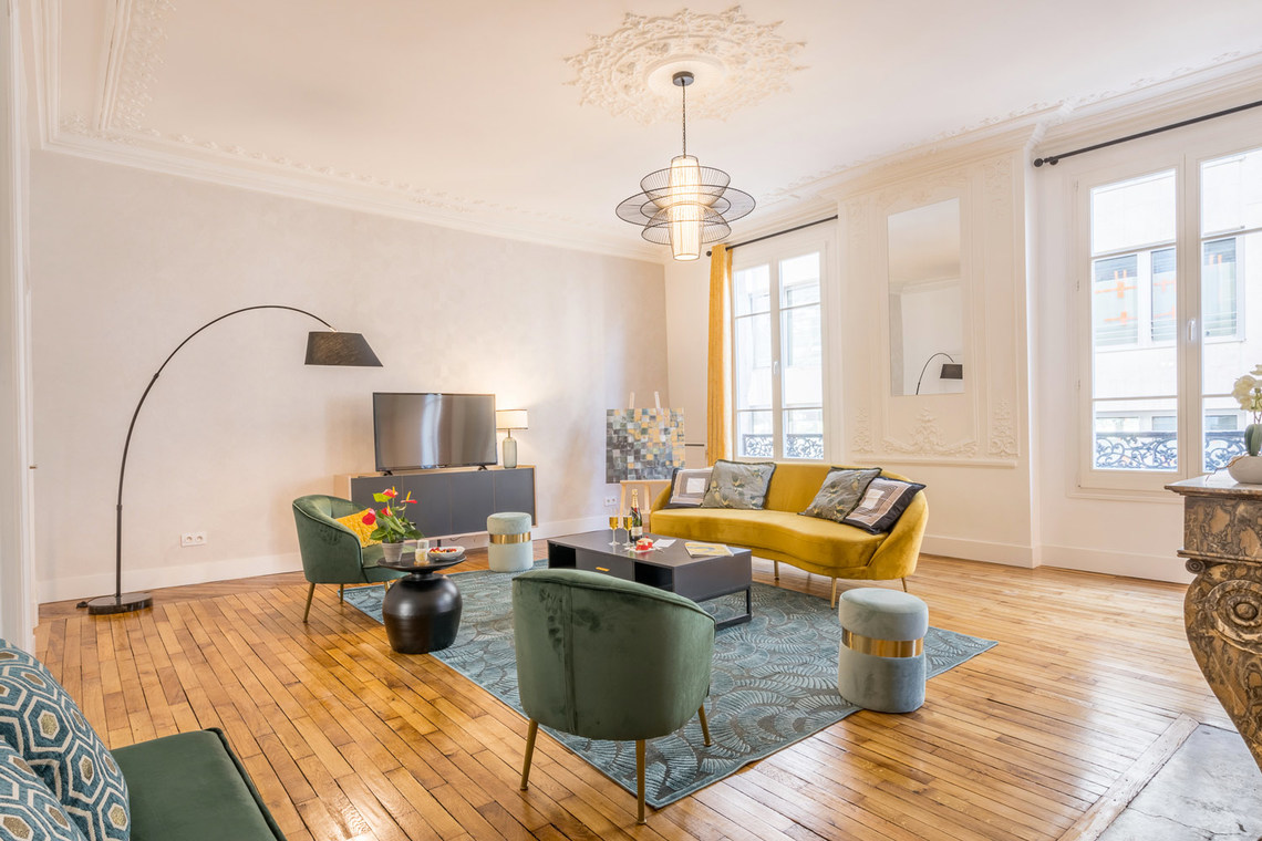 Furnished apartment for rent Paris Rue Saint Marc