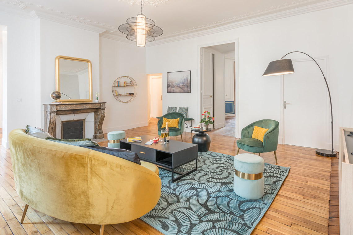 Apartment Paris Rue Saint Marc 3