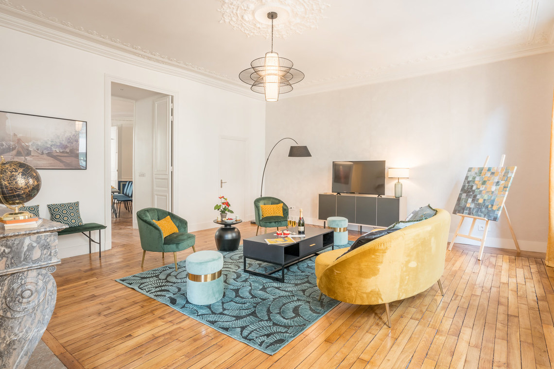 Apartment Paris Rue Saint Marc 4