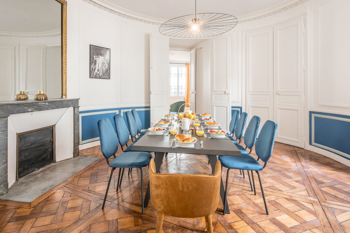 Apartment Paris Rue Saint Marc 6
